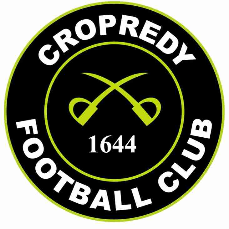 Cropredy go out on penalties