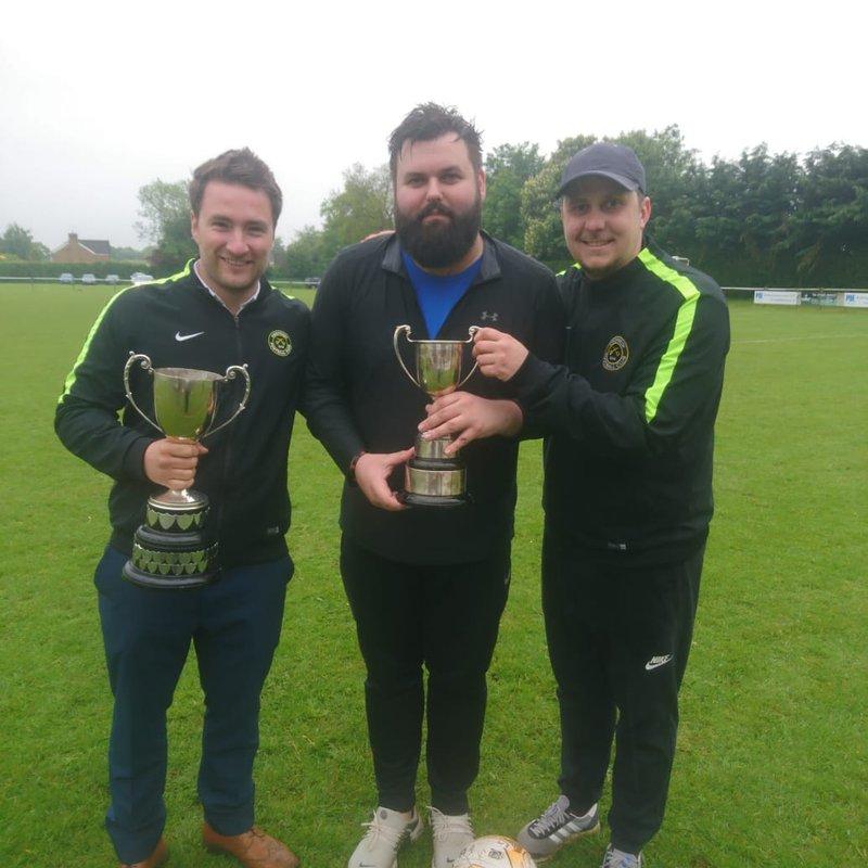 Ben Turner & Ivor Gubbins Cup Winners!