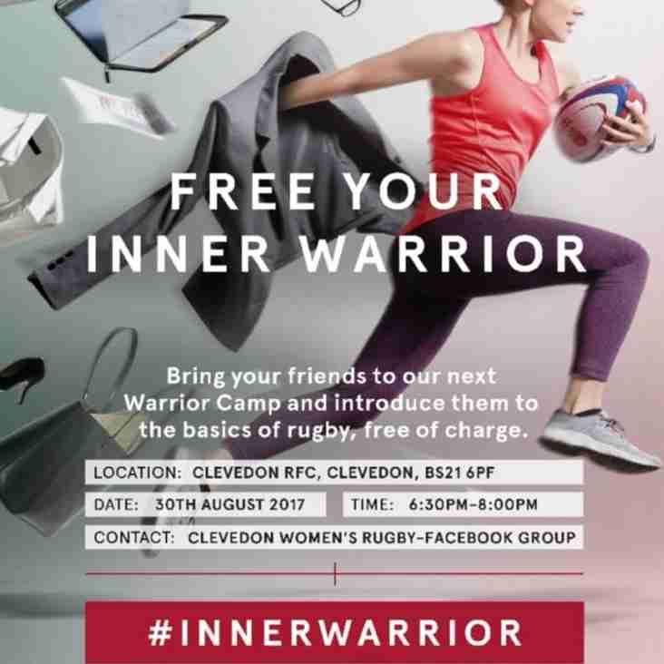 Clevedon RFC Women Host Inner Warrior