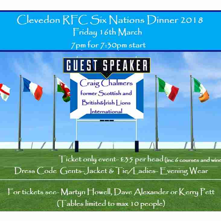 Six Nations Dinner