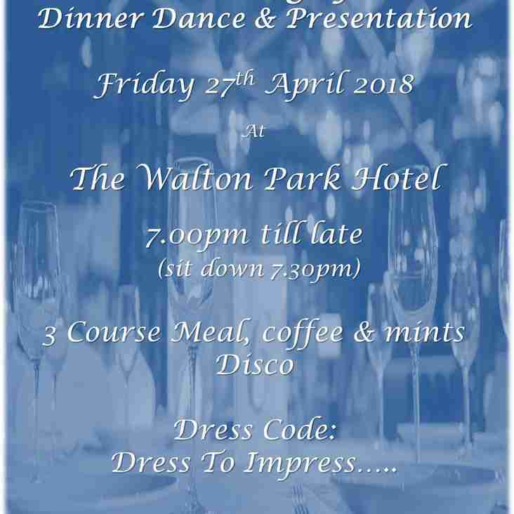 Dinner Dance & Presentation