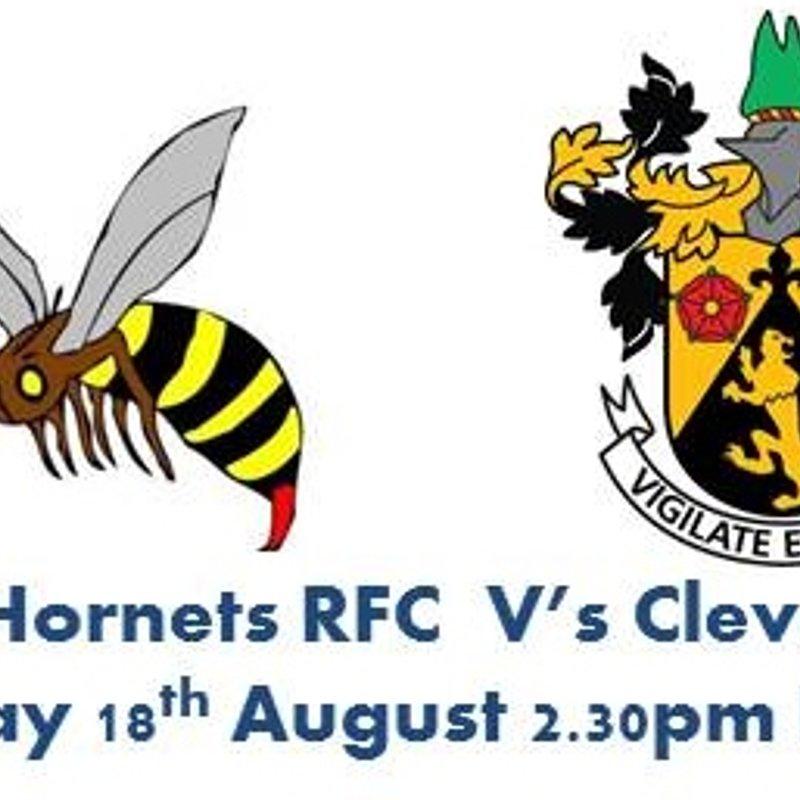 Weston Hornets RFC V's Clevedon RFC