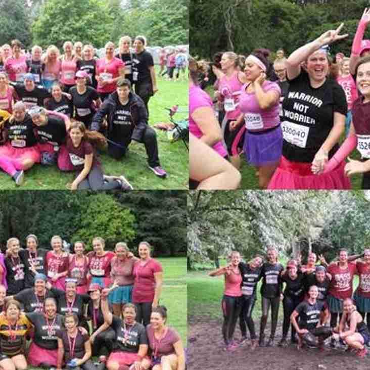 Clevedon Ladies RFC Take On The 'Mud Race'