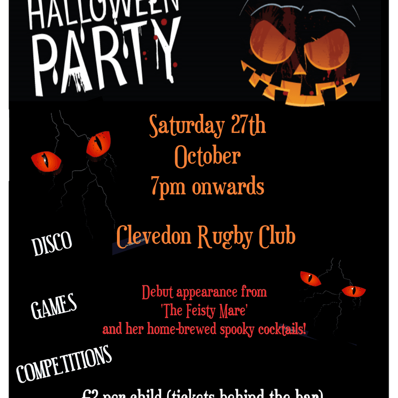 Halloween Party - Fancy Dress !
