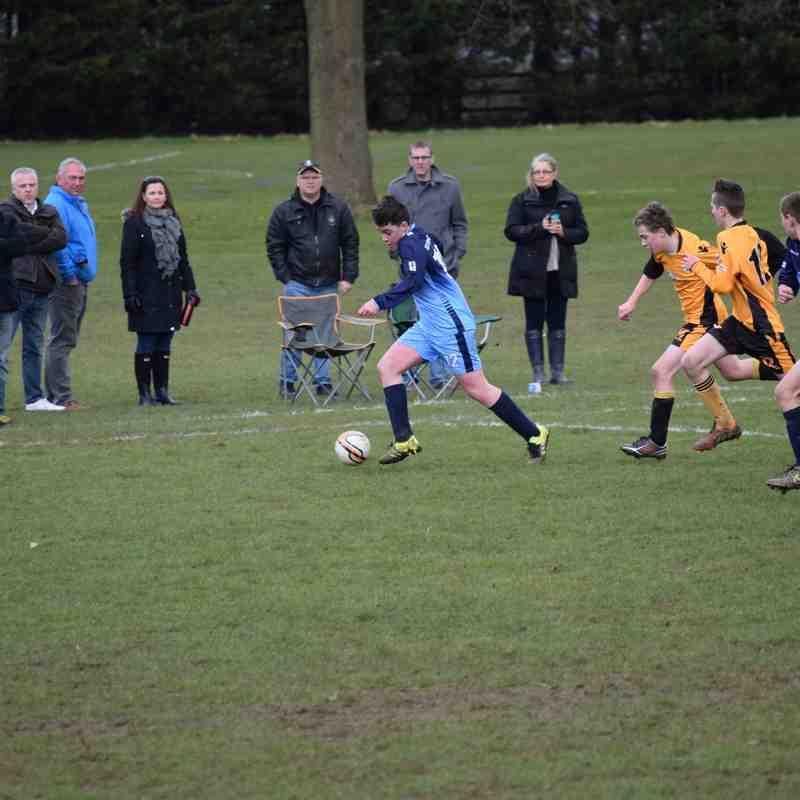 Sarisbury v Rangers U14's