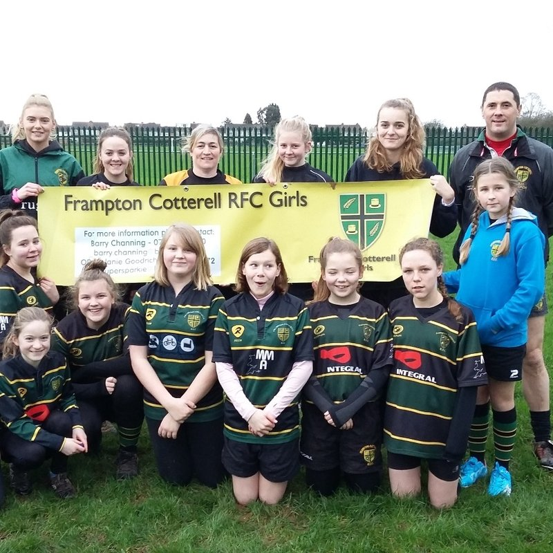 FCRFC Girls lose to Nailsea & Backwell RFC 30 - 34