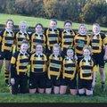 Girls U 15's beat Worcester  64 - 12