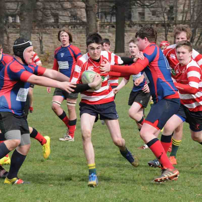 Muntly v Ross Sutherland S1/2 and Under 16's 27/03/16