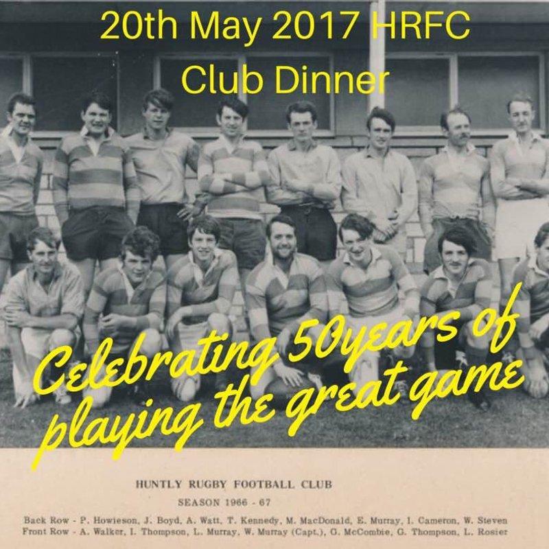 HRFC 50th Anniversary