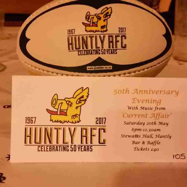 Huntly RFC is 50