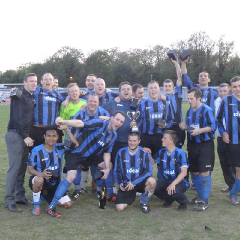 Chalvey Sports Firsts beat Chinnor Res' 8 - 0
