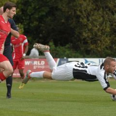 Barmouth & Dyffryn 0 - 2 Buckley Town, 08/10/16 Pics by Rod Davies Photography