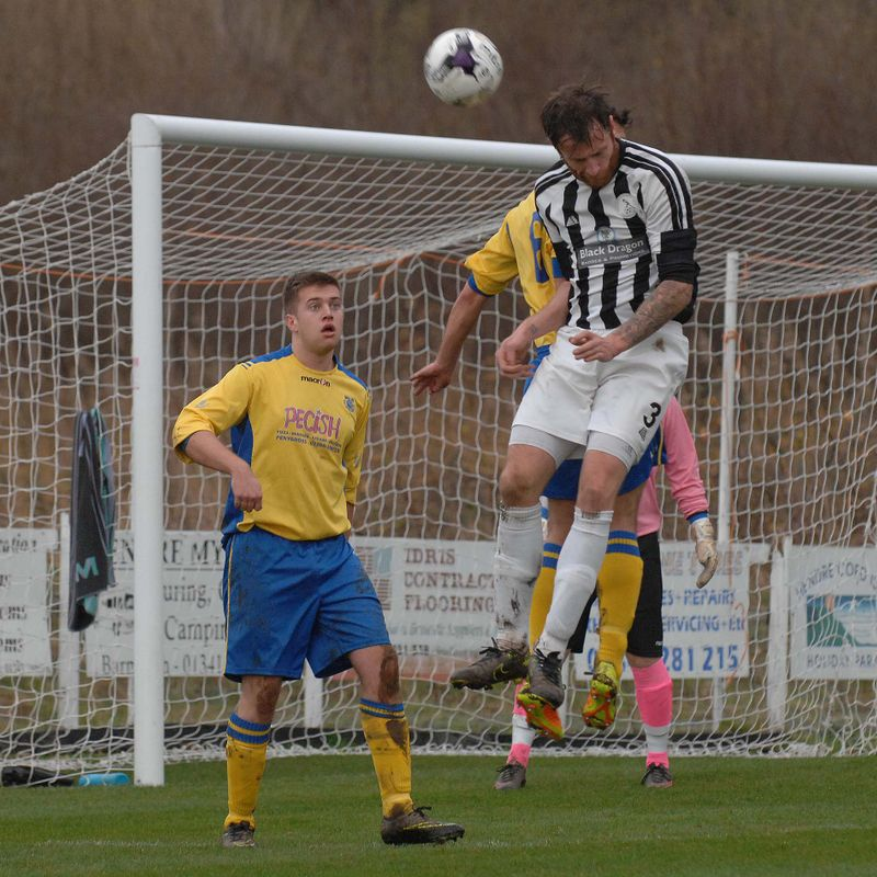 Paul Lewis Free Kick, Barmouth & Dyffryn 4 - 0 Nantlle Vale, 17/12/2016