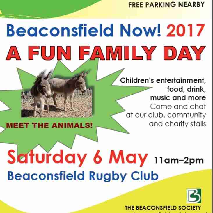 BEACONSFIELD NOW! 2017 – Saturday 6th May – 11am-2pm - Beaconsfield Rugby Club