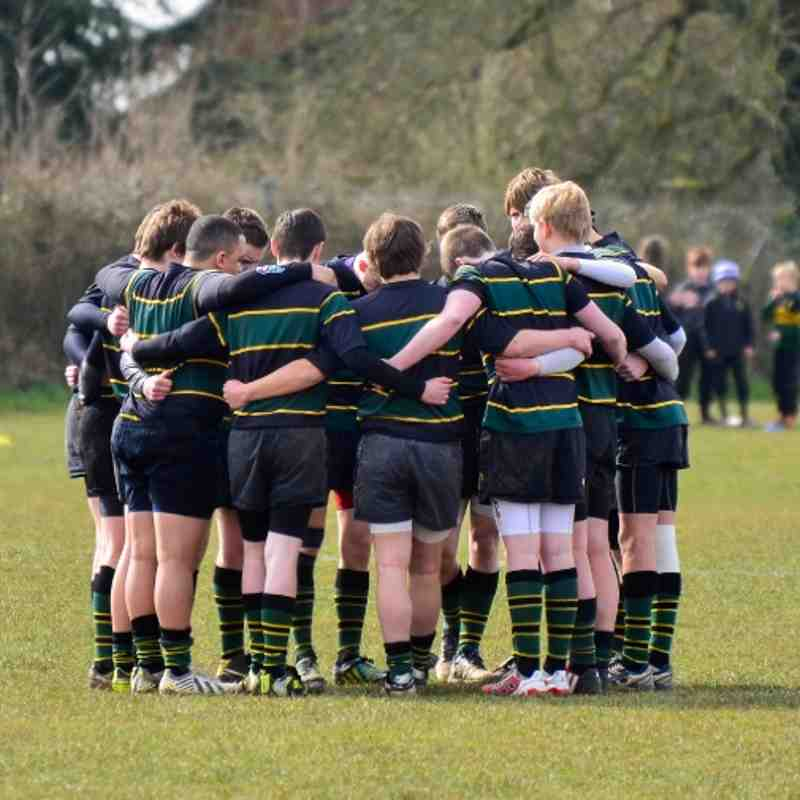 FCRFC U16's vs Cleeve 7th April 2013