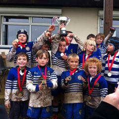 Under 9's Winners of the east Kent festival Ashford