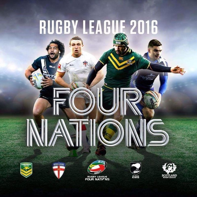 England v New Zealand - 4 Nations special ticket offer through Newsome Panthers!!