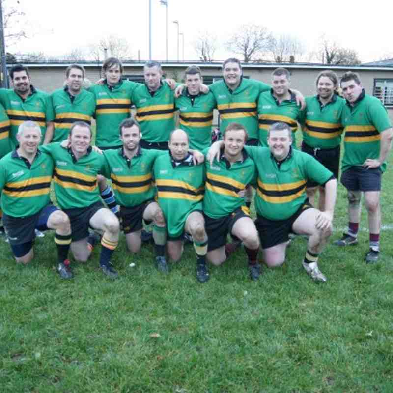 Bracknell 4th's Vs Oxford Quins 4th's