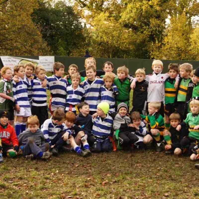 Bracknell / Windsor / Tynedale U8 triple header