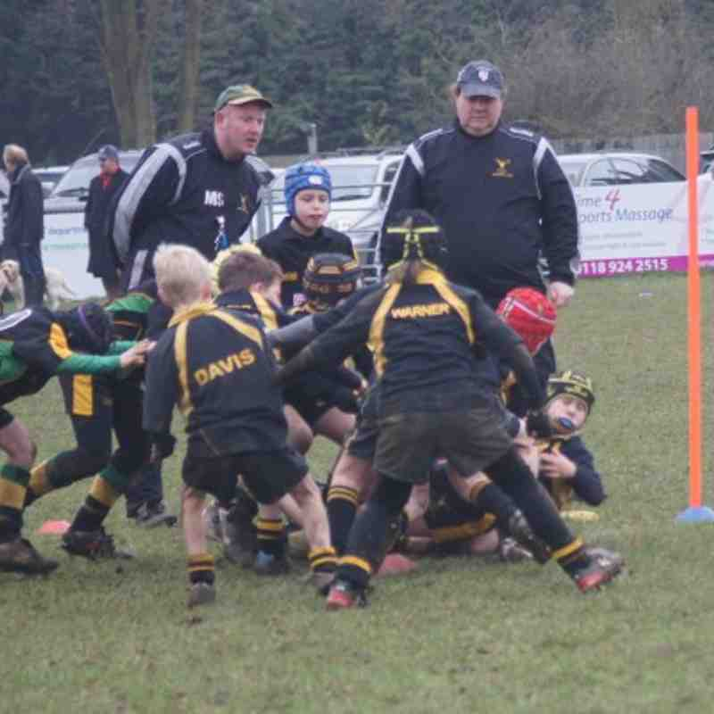 BRFC U9 Ensians 20th Feb 2011