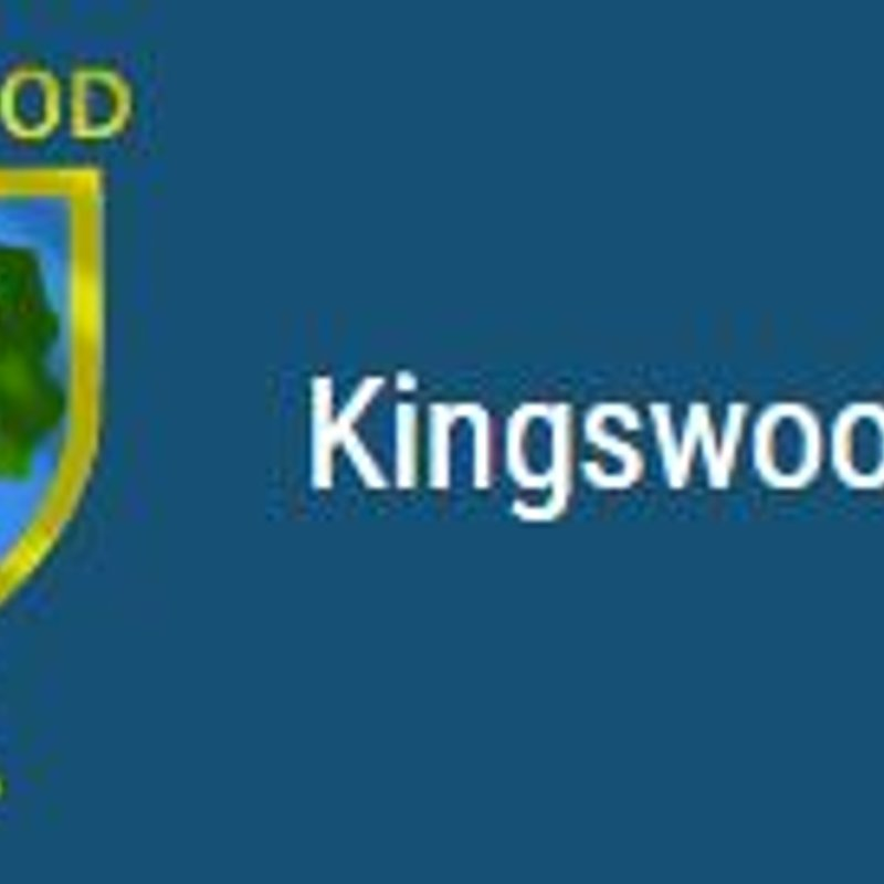 Many Thanks From Kingswood RFC