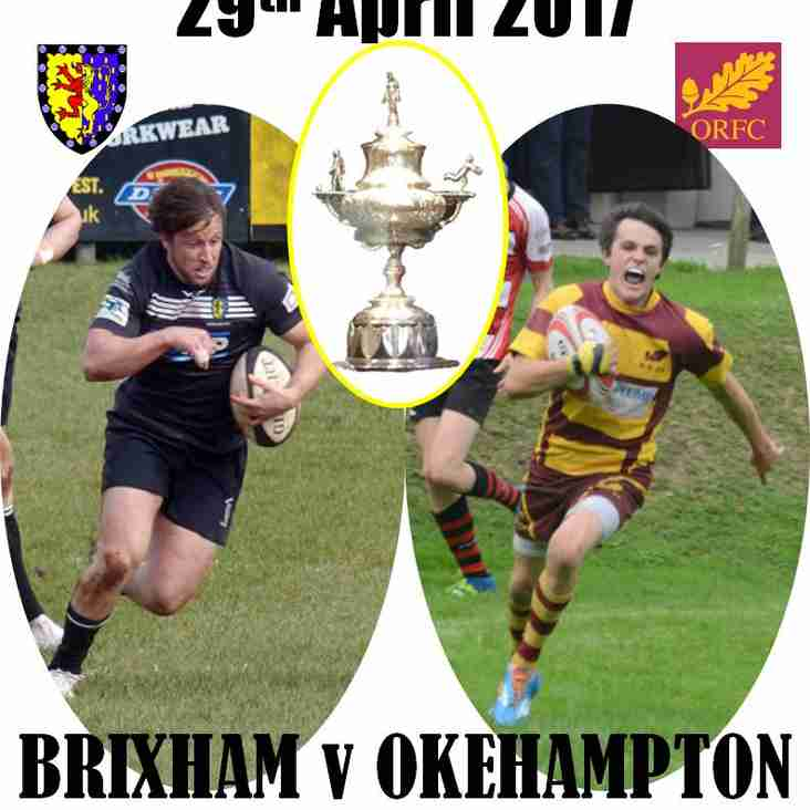 THIS WEEKEND !! DEVON CUP FINAL!!!