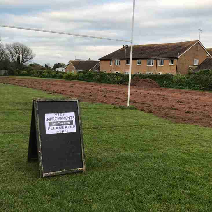 Ground renovations and club refurbishments have commenced