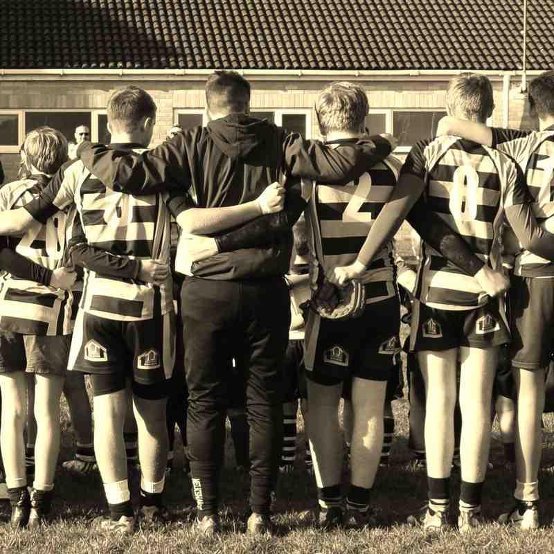 Melksham RFC U15's  13.11.16  Frome v Melksham Won 7-12