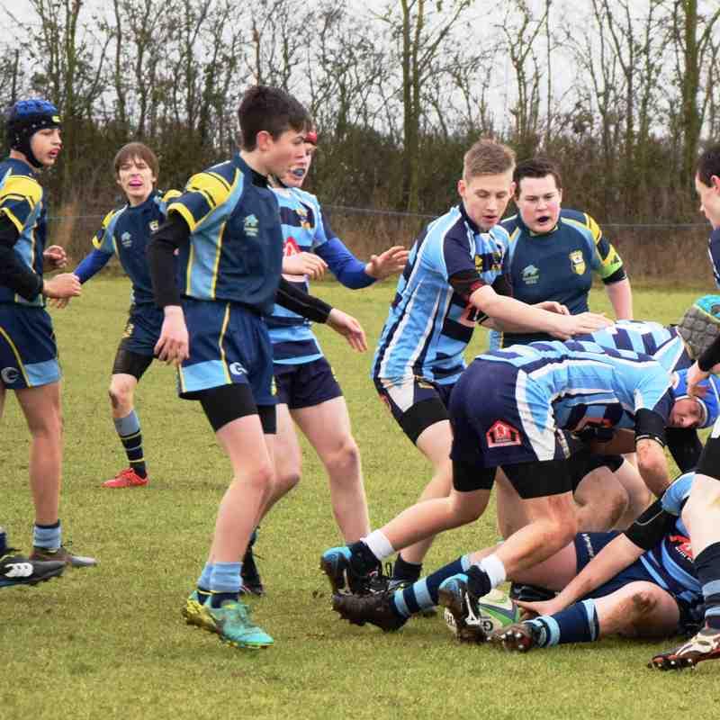 Trowbridge v Melksham U 15's ... ..5-7 Win