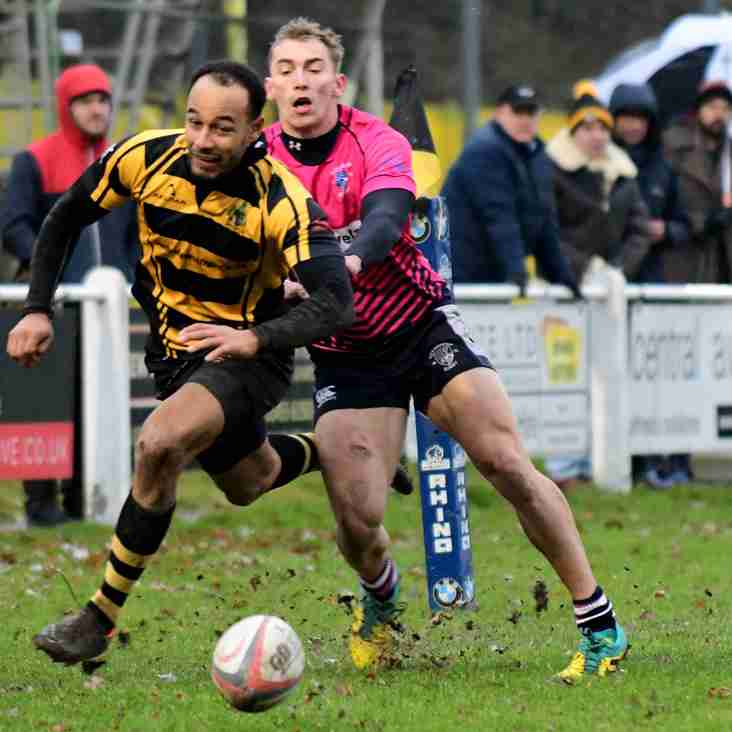 Hinckley defence too strong for Stourbridge