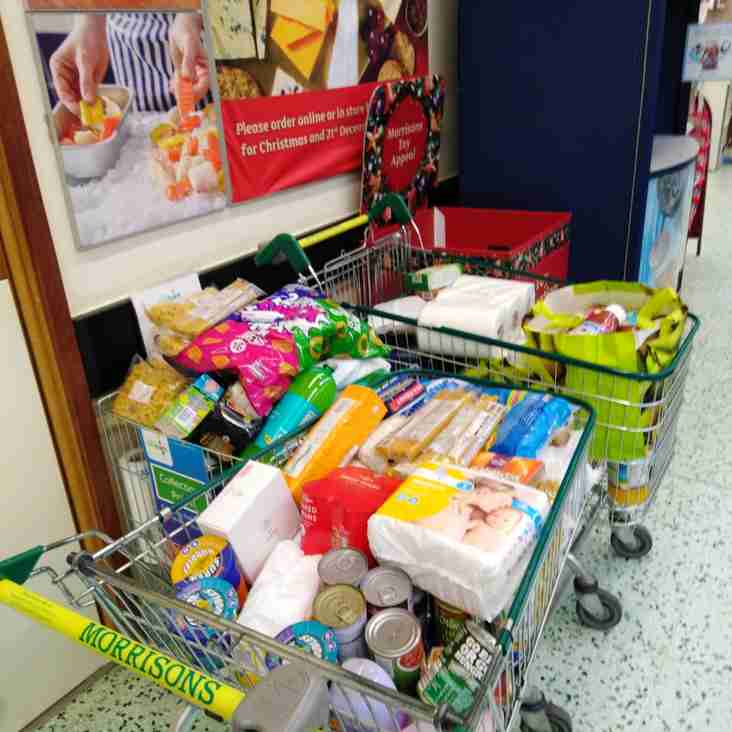 A Thank You from Hinckley Area Foodbank!