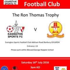 The Ron Thomas Trophy