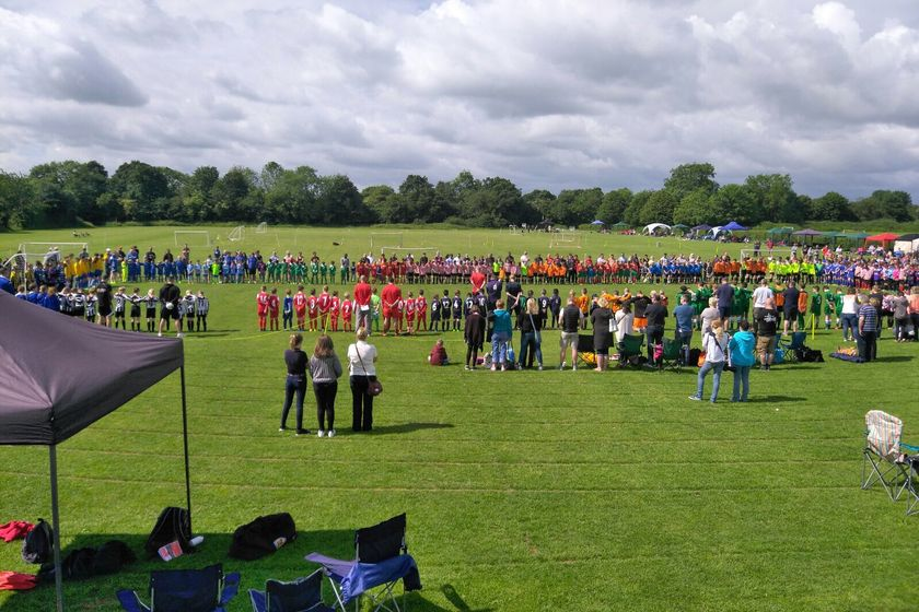 Easington Sports Football Club 2018 Tournament