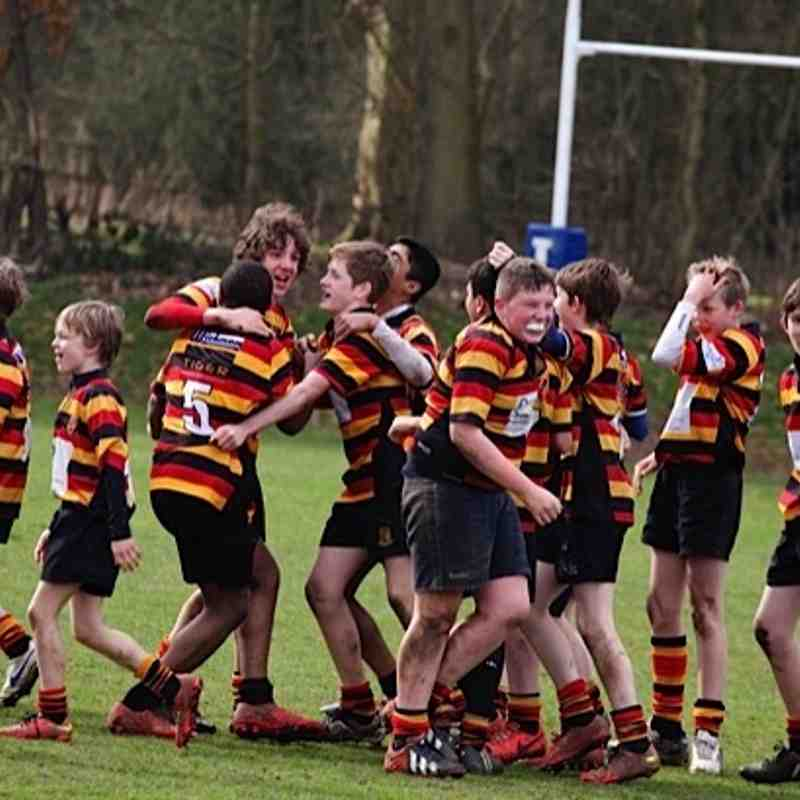 U13s vs Warrington (A) 15/3/15