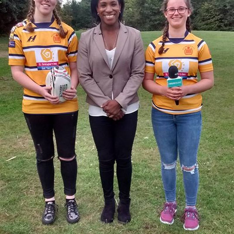OERFC Lionesses interview England Womens stars for CBBC
