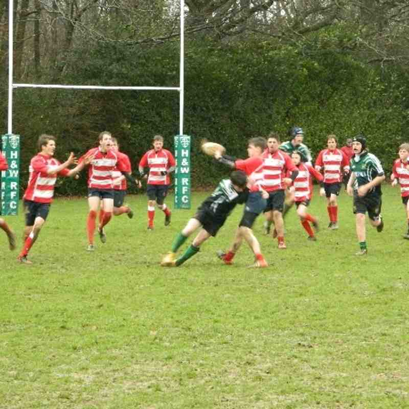 Heathfield vs Crowborough U14s