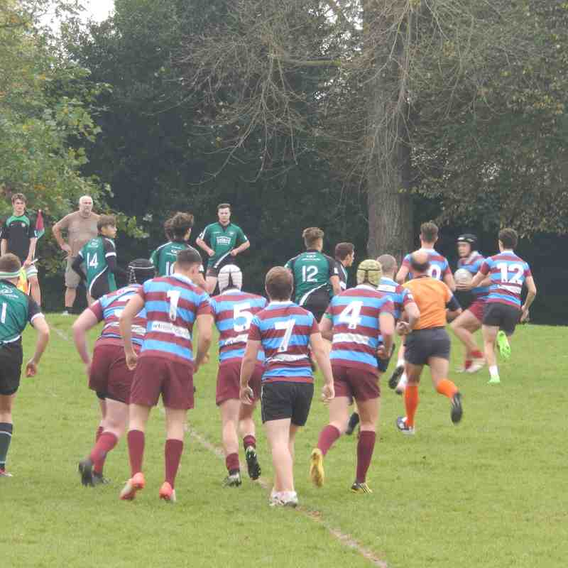 Hove vs HWRFC Colts - Friendly 15/10/17