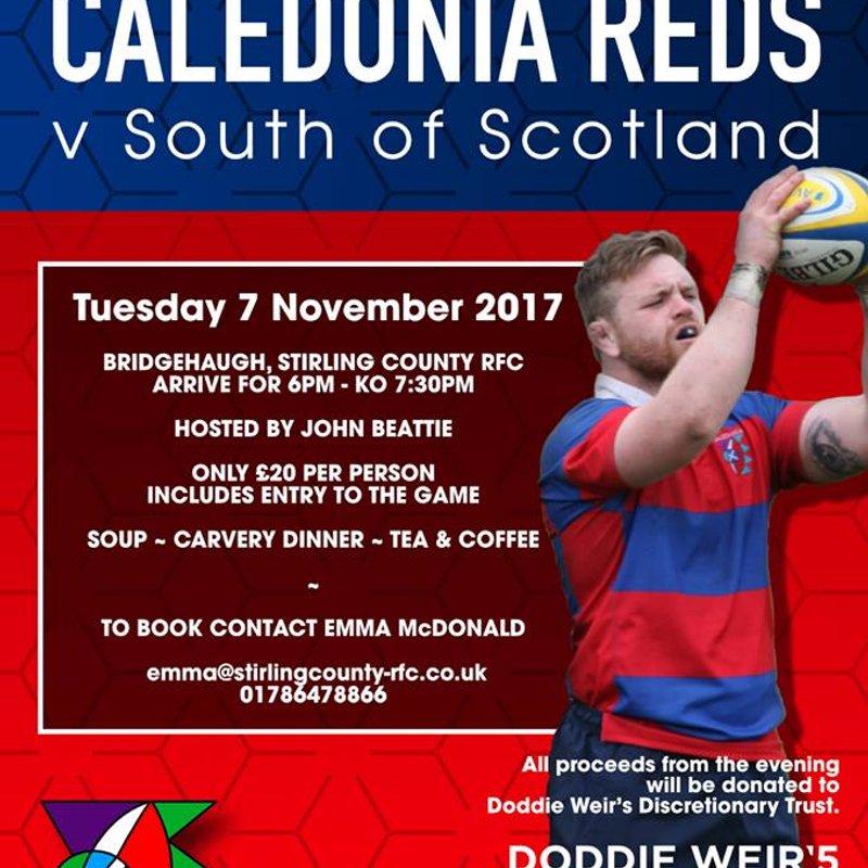 Caledonia Reds v South of Scotland