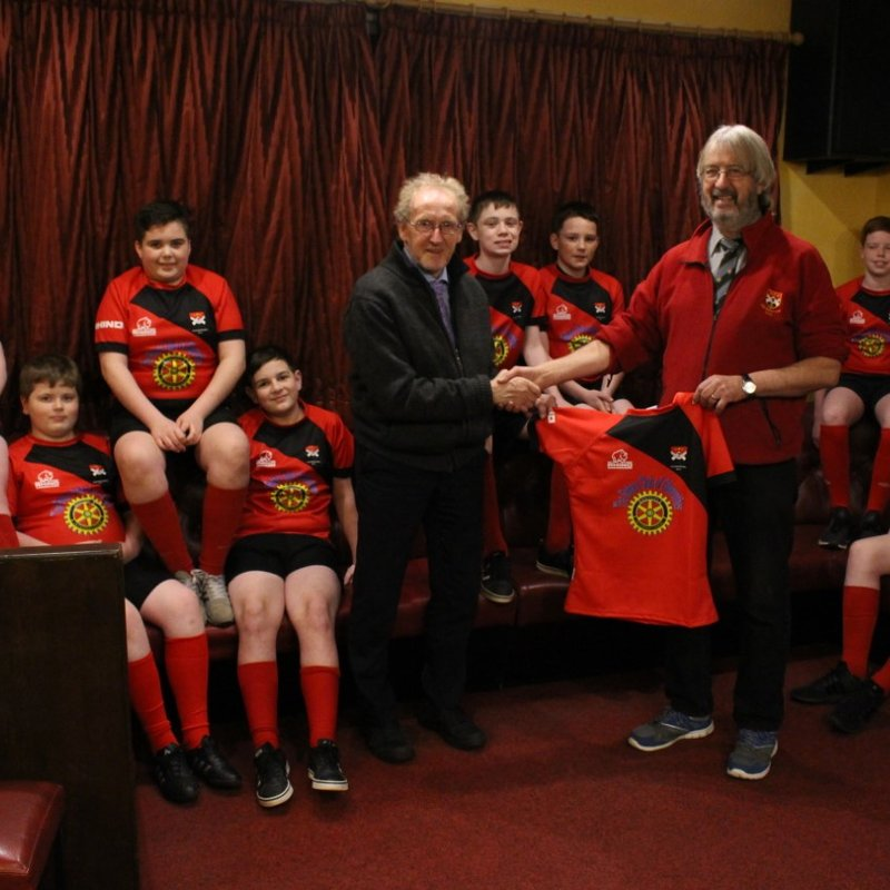Rotary Club of Glenrothes Supports the U14's