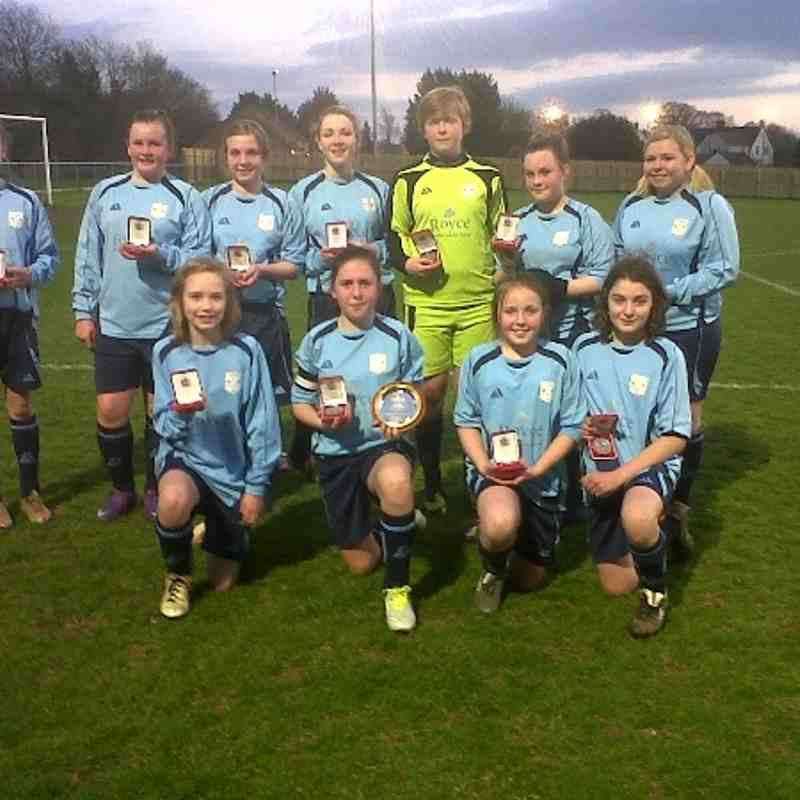 Ardley Utd FC - Cup Final U13's v Oxford City U14's
