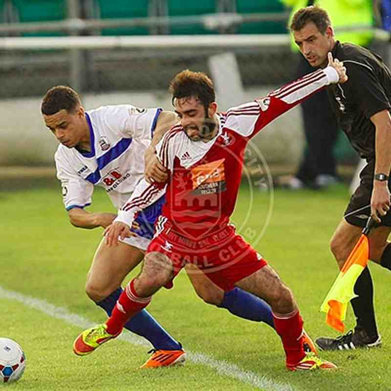 Whitehawk (A) 12/10/14 (FA Cup Third Qualifying Round)