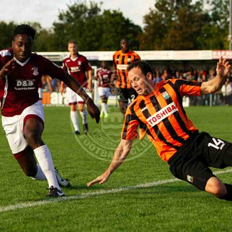 Barnet (H) 25/10/14 (FA Cup Fourth Qualifying Round)