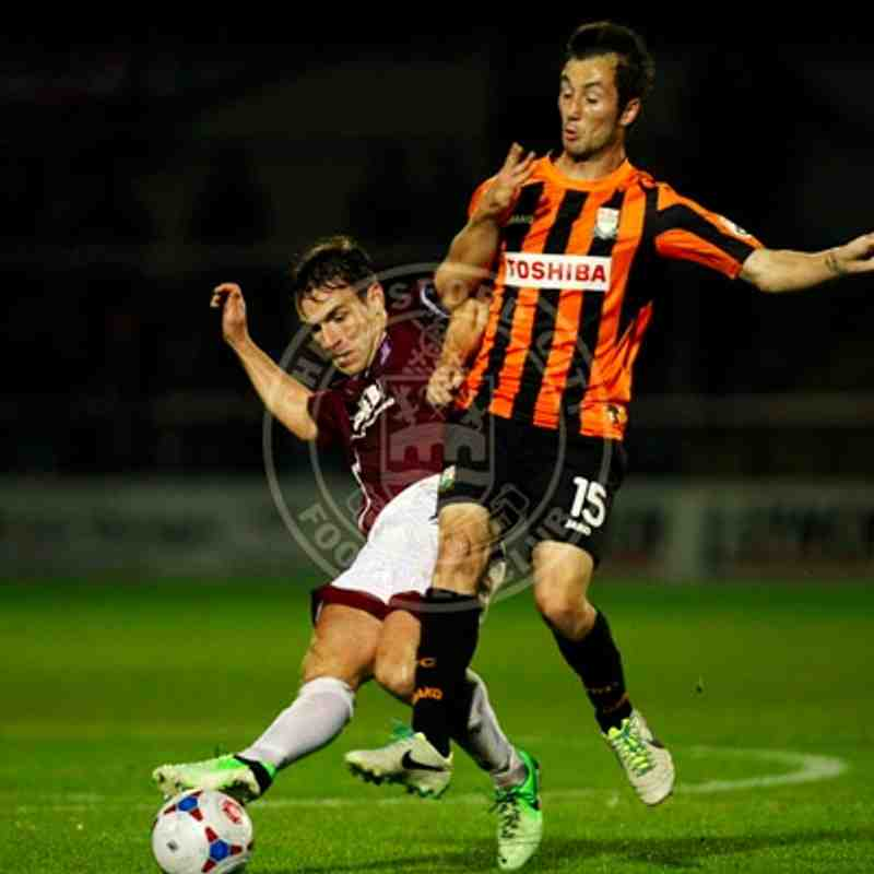 Barnet (A) 28/10/14 (FA Cup Fourth Qualifying Round Replay)