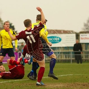 Clarets Triumph at Gosport