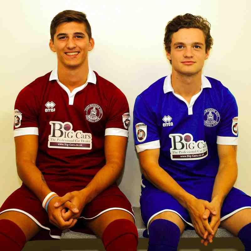 2015-16 Home and Away Kit