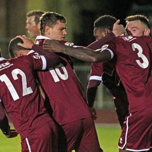 10-Man Clarets Advance in the FA Trophy