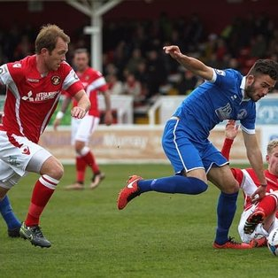 Clarets Punished By Clinical Ebbsfleet