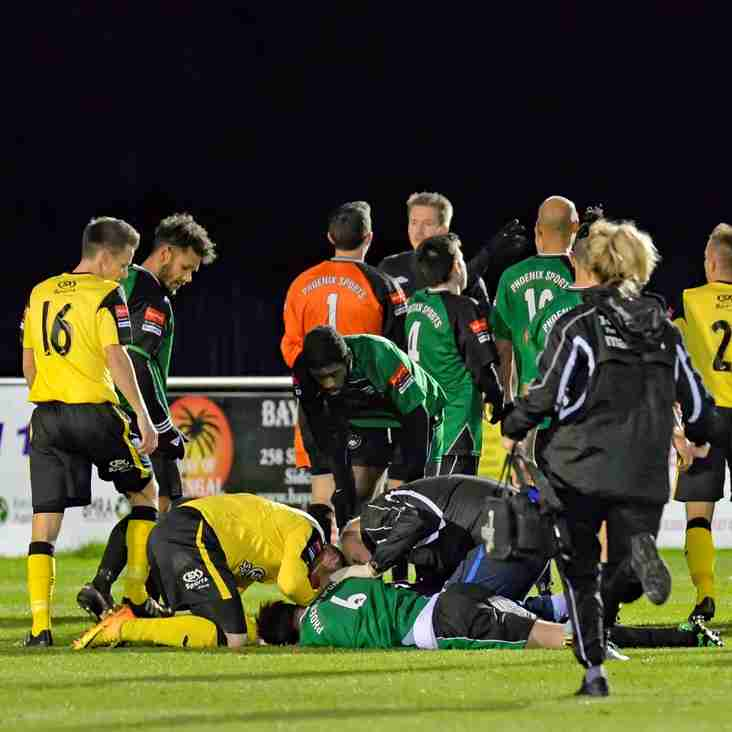Nash glad Steve Springett is fine after collision