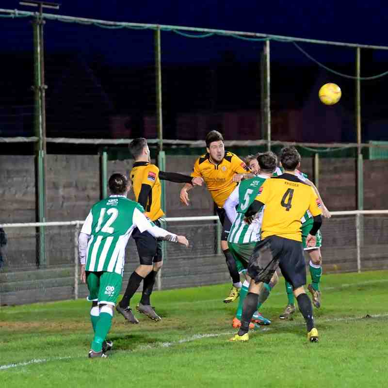 Rovers 0  Cray Wanderers 0 - 9th January 2016. (For full set of match photos visit https://www.flickr.com/photos/gwroversfc/albums/72157661061407784)