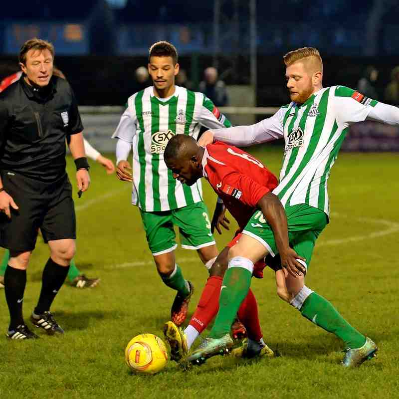 Rovers 1  Redbridge 0 - 16th January 2016 (For full set of match photos visit https://www.flickr.com/photos/gwroversfc/albums/72157661352842673)